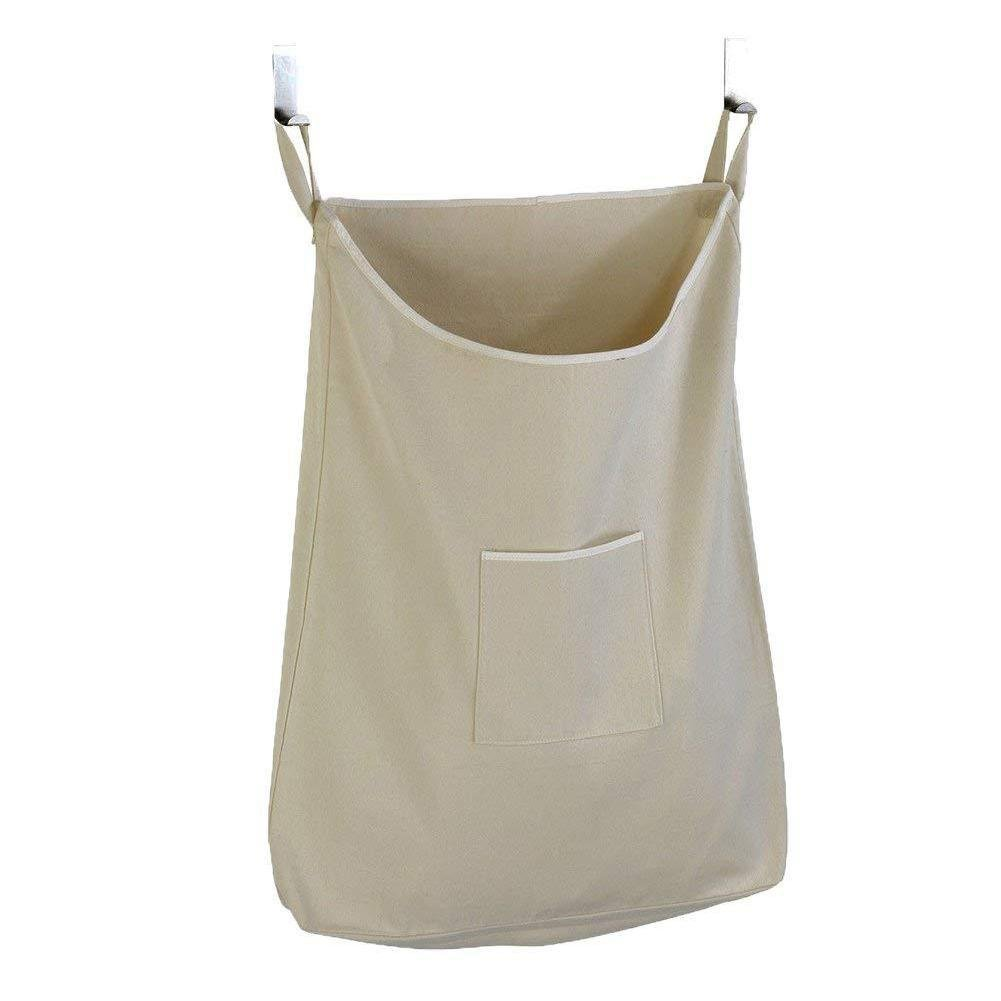 Storage Bag Square Mouth Storage Bag Large Capacity Dirty Clothes Bag Laundry Bag Hanging Behind The Door 无
