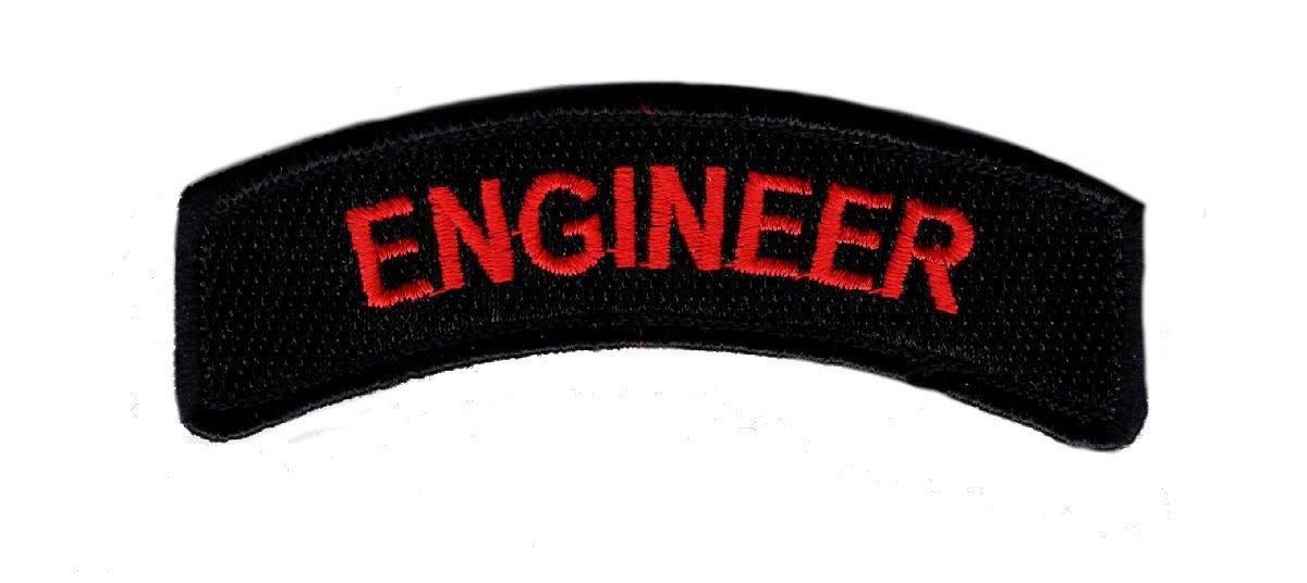 Amazon.com  Engineer Tab Rocker Tactical Morale 2.75 inch Hook Patch  (MTE1)  Arts 27c7aac266d