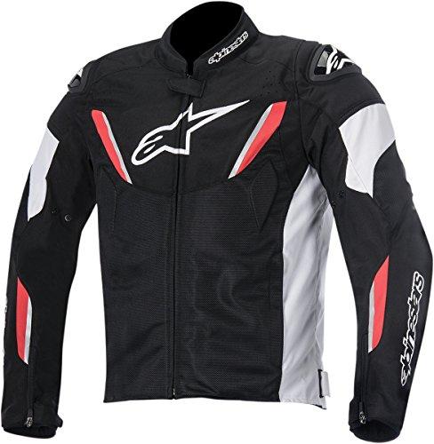 Alpinestars T-GP R Air Men's Street Motorcycle Jackets - Black/White/Red / Medium