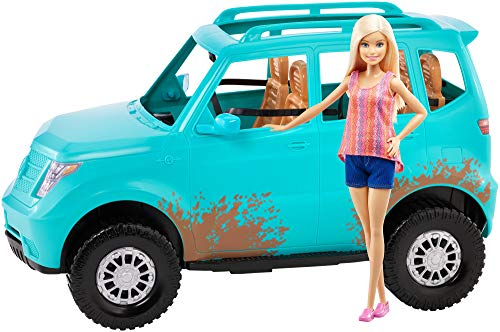 Barbie Doll & Vehicle (Teal)