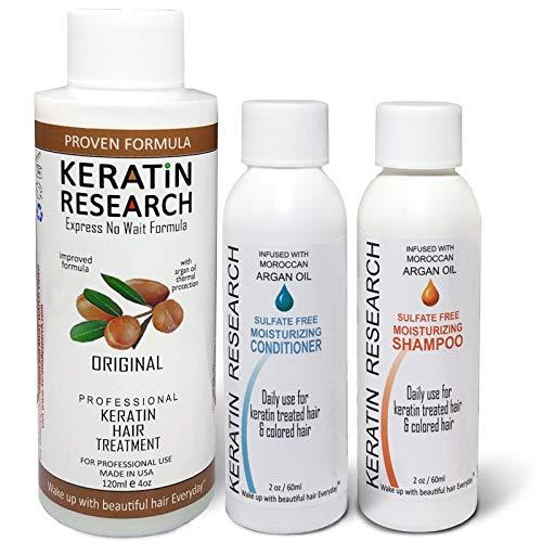 Brazilian Keratin Blowout Hair Treatment Complex 120ml Professional Results Straightens and Smooths Hair Queratina Keratina Brasilera Tratamiento