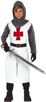 Guirca Disfraz de Caballero Templario para niños: Amazon.es ...