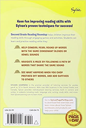 Amazon.com: Second Grade Reading Roundup (Sylvan Fun on the Run ...