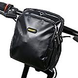 Rhinowalk Mtb Handlebar Bag,Waterproof Mountain Bike Pouch Multifunctional Bike Bag,Removable Straps...