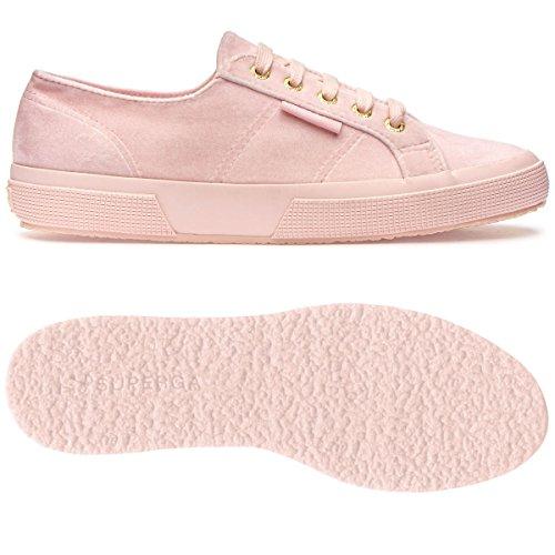 Pink 2750 Donna Pink Sneaker Polyvelvtw Mauve Superga PItqwI