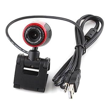 STOREINBOX USB 2,0 Clip Webcam Web Cámara 10 X Zoom óptico w/Mic micrófono para ordenador portátil PC de escritorio: Amazon.es: Informática