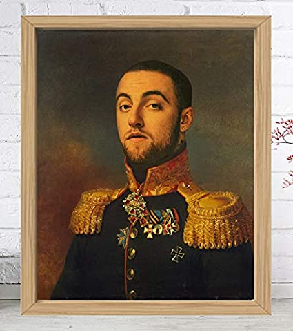 Amazon com: In With The Old Mac Miller- Limited Poster