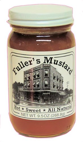Fuller's Mustard - All Natural Sweet & Spicy Mustard with 4 simple ingredients (6 pack - 9.5 oz. per jar)
