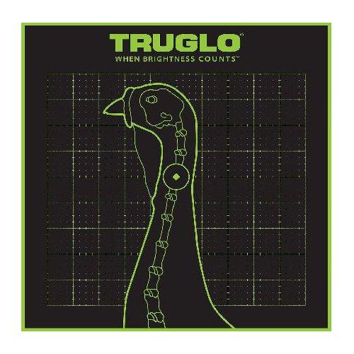 TRUGLO Tru-See Splatter Turkey Target 12 pack (Shooting Turkey Targets)