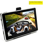 GPS Navigator, OUMAX GP50HD 5.0inch GPS Navigation System with Spoken Turn-By-Turn Directions, Preloaded USA,...