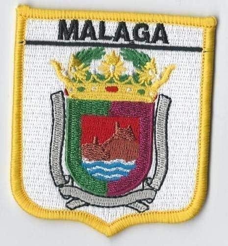 MÁLAGA ANDALUCÍA ESPAÑA ESCUDO PARCHE bordado de Banderas del mundo: Amazon.es: Hogar