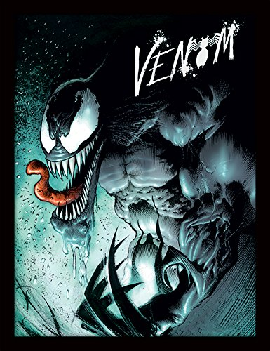 iPosters Marvel Extreme Venom Framed 30 x 40 Official Print - Overall Size: 36 x 46 cm (14 x 18 inches) Print Size: 30 x 40 cm