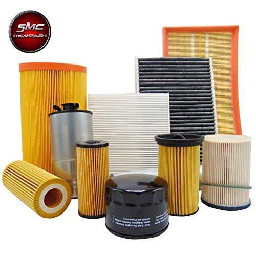 Mixed Kit tagliando 3 Filters 1.4 Natural Power 78 CV from 2008 (Air, Oil and Fuel Filters):