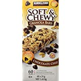 Kirkland Signature Soft and Chewy Chocolate Chip Granola- 60 Bars