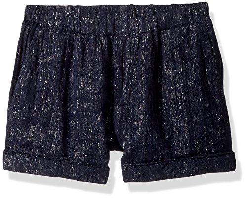 Ella Moss Girls' Shimmer Linen Short - Blue - 12 (Ella Moss Linen)