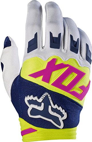 Fox Racing Dirtpaw Race Race Adult MotoX Motorcycle Gloves - Navy/White / Large