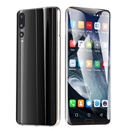 Choosebuy Unlocked Cell Phones, 6.1 inch Dual SIM HD Camera Smartphone Android 8.1 Bluetooth WiFi Eight Cores 3GB GPS Call Mobile Phone 1G RAM+8GB ROM Extended memory 64G (Black)