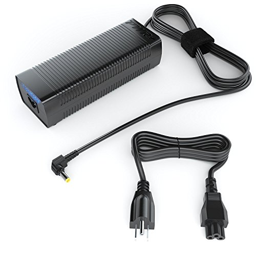 Pwr+ 180W 150W for MSI GT683DX GT683DXR GT780DX GT780DXR GT783 GT783R MS-16F4 MS-1763 MS-176K MS-16F3 MS-1762 Charger Laptop AC Adapter Extra Long 14 Ft Power Cord : !!! Check Connector Photo !!!