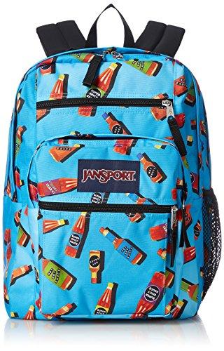 Viking Student Big JanSport Hot Sauce Backpack Red wRvFtqHx