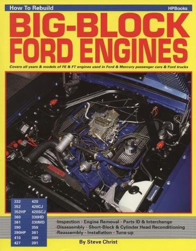 Ford Drag Racing (How To Rebuild BIG-BLOCK FORD ENGINES)