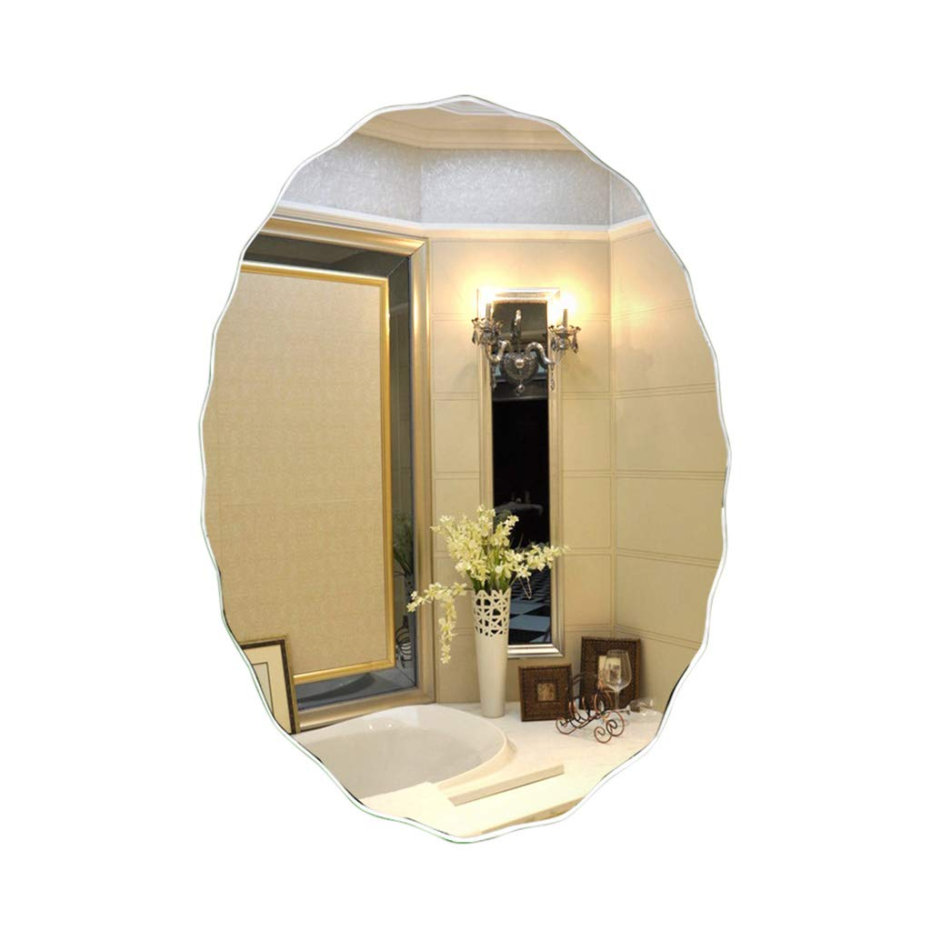 贅沢 SXLL鏡 SXLL鏡 壁にマウントされたバスルームのバニティミラークリエイティブシンプルな波状のサイドフレームミラー (サイズ さいず 45*60cm) (サイズ : 45*60cm) 45*60cm B07KXB2V2S, 良品会議:6ec79edc --- svecha37.ru
