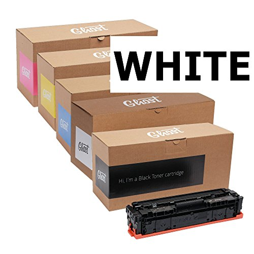 (Ghost Toner for HP Laserjet Pro 200 Color Printer M251N/NW/276N/NW - White)