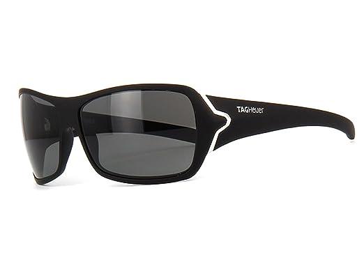 tag sunglasses  TAG Heuer Sunglasses 9202 901 Racer 2 Matte Black Silver Polarized ...