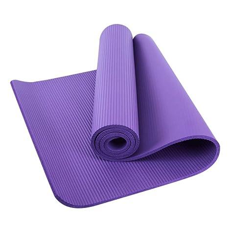 NBR Esterillas de yoga Almohadilla de yoga de alta densidad ...
