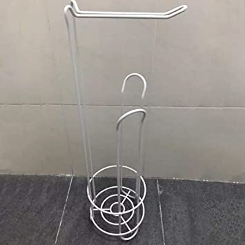 Black Creative Wrought Iron Kitchen Paper Towel Rack Dining Table Kitchen roll Holder Free Punch Vertical Paper Towel Storage Rack