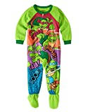 5t ninja turtle pajamas - AME Sleepwear TMNT Teenage Mutant Ninja Turtles Footed Pajamas Blanket Sleeper Little Boys 5T