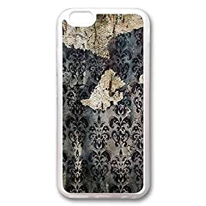 Custom Iphone 6 Plus Case,Rock DRAWING Transparent Iphone 6 Plus Cases