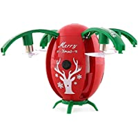 3C-LIFE-JJRC H66 Drone with HD Camera Christmas Present Kids Xmas Presnt Remote Control Toy Helicopter Air Pressure Fixed High Four-Axis Aircraft-Red