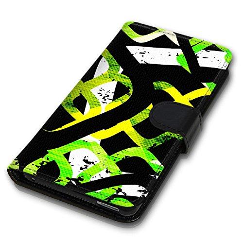 Wallet Book Style Flip Handy Tasche Case Schutz Hülle Schale Motiv Etui für Apple iPhone 6 Plus / 6S Plus - Design Flip MVD184