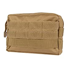 MOLLE Pouches - Compact Water-resistant Multi-purpose Tactical EDC Utility Gadget Gear Hanging waist Bags