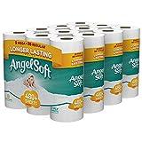 Angel Soft Toilet Paper, Bath Tissue, 36 Mega Rolls (4 Packs of 9 Rolls)