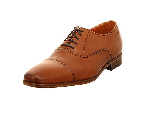 Van Lier 6004 Cognac - Zapatos de Cordones para Hombre ...