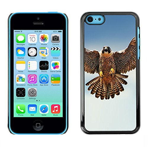 Omega Case PC Polycarbonate Cas Coque Drapeau - Apple iPhone 5C ( The Falcon )