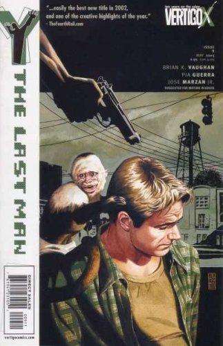 Y The Last Man #9 Comic (DC Vertigo 2003 Volume 1), Brian K.Vaughan