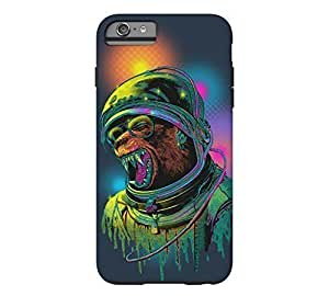 Gundam Protective Case's Shop Best 6434121M55001972 ASTROWEREWOLF iPhone 6 Plus Navy Blue Tough Phone Case