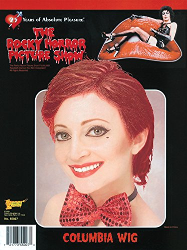 Rocky Horror Columbia Wig (Forum The Rocky Horror Picture Show Columbia Wig, Red, One Size)