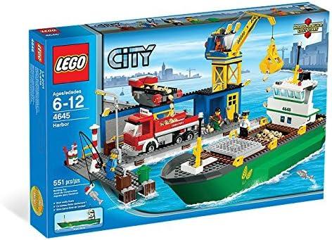レゴ(LEGO) シティ コンテナ船とハーバー 4645