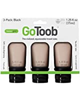 Humangear GoToob Civilized Squeezable Travel Tube (Pack of 3)