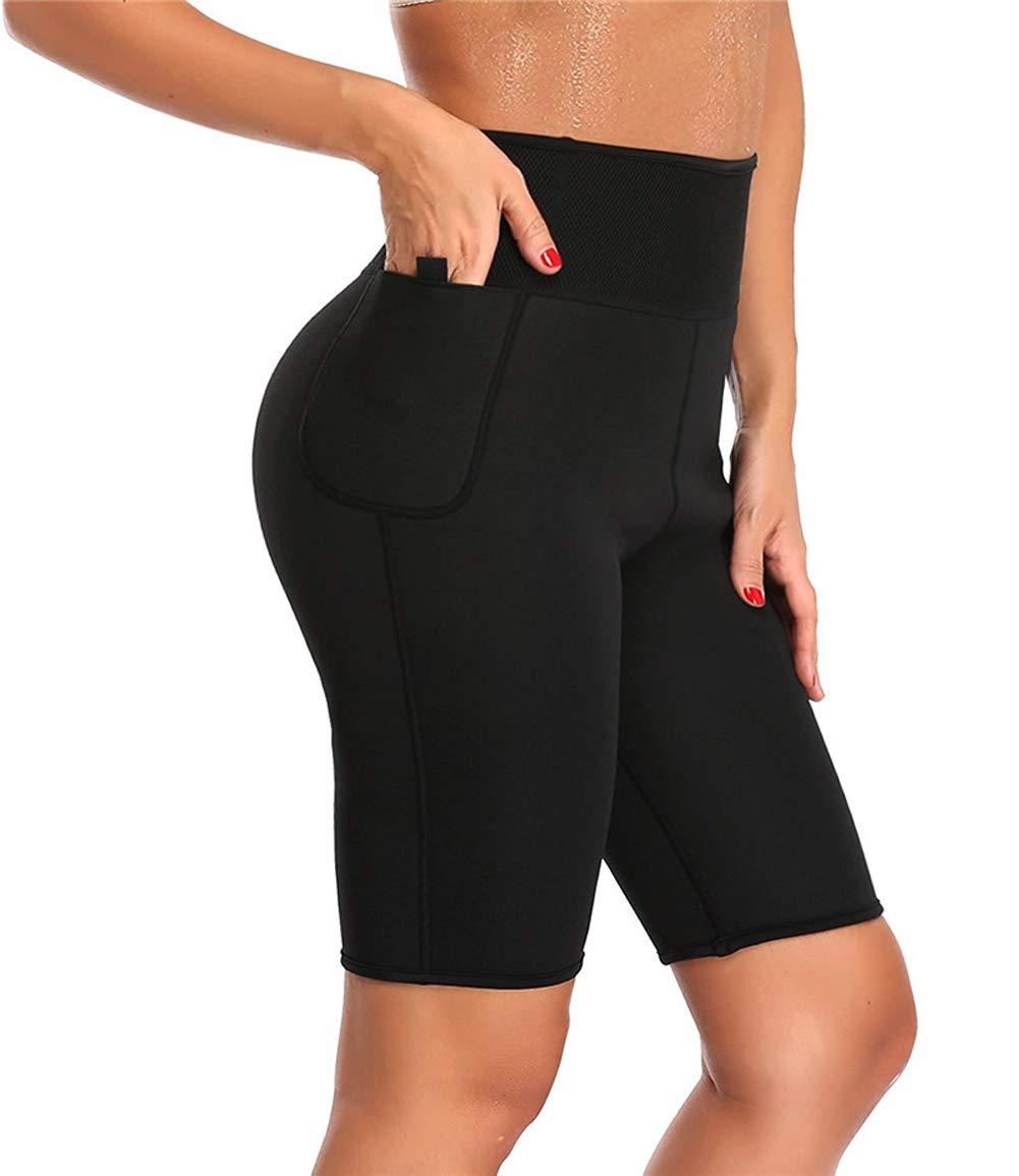 74fb4aea8e Amazon.com : ZMZ Hot Pants Women Butt Lifter Control Panties Body Shaper  Waist Trainer Sweat Sauna Neoprene Short Legging Slim Pant Capris : Sports  & ...