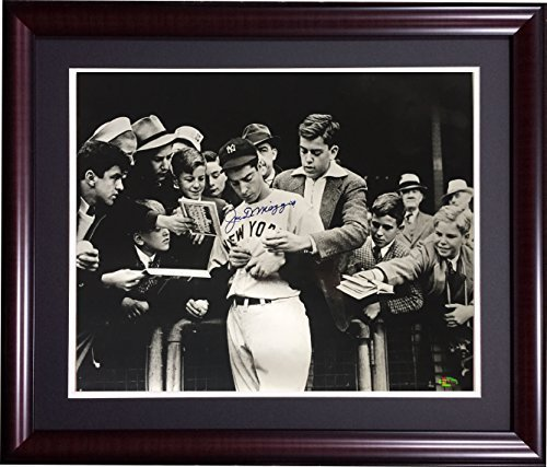 - Joe DiMaggio Signed Framed 16x20 Photo HOF Yankees auto Steiner # holo only