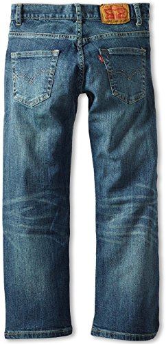Levi's Boys' 505 Regular Fit Jeans, Clouded Tones, 14