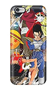 Ultra Slim Fit Hard CaseyKBrown Case Cover Specially Made For Iphone 6 Plus- Fairy Tail X One Piece Crossover