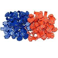 Kicode Útil 20 piezas rojo Blue Scotchlocks Broche