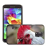 Hot Style Cell Phone PC Hard Case Cover // M00130592 Hahn Comb Gockel Bird Bill // Samsung Galaxy S5 S V SV i9600 (Not Fits S5 ACTIVE)