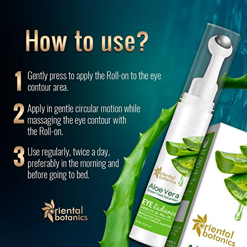 Oriental Botanics Under Eye Cream to Reduce Dark Circles