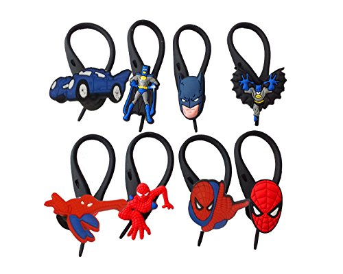 [AVIRGO 8 pcs Soft Zipper Pull Charms for Backpack Bag Pendant Jacket Set # 17-3] (Doctor Watson Costume)